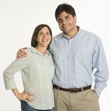Portrait of couple. Stock Photos