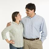 Portrait of couple. Royalty Free Stock Images