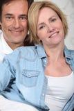 Portrait of a couple Stock Image