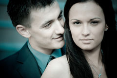Portrait: couple Stock Photo