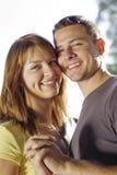 Portrait of couple holding hands Stock Photos