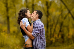 Portrait of a couple in love Stock Photography