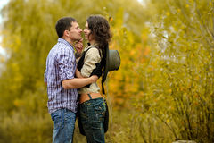 Portrait of a couple in love Royalty Free Stock Photos