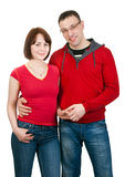 Portrait of couple in love Stock Image