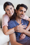 Portrait of a couple posing Stock Images
