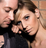 Portrait of a Couple Together Stock Photography