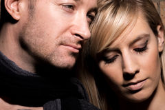 Portrait of a Couple Together Stock Images
