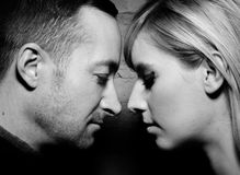 Portrait of a Couple Together Royalty Free Stock Photo