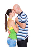 Portrait of couple of young people Stock Photography
