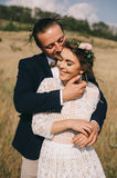 Portrait couples, tenderness love nature Royalty Free Stock Images