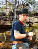 Portrait of a cowboy Stock Image