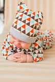 Portrait of crying baby boy Royalty Free Stock Photo