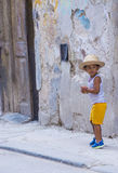 Portrait of a Cuban child Royalty Free Stock Photography