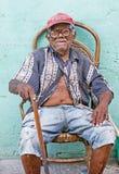 Portrait of a Cuban man Royalty Free Stock Photos