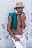 Portrait of a Cuban man Royalty Free Stock Photo