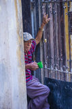 Portrait of a Cuban man Royalty Free Stock Photography