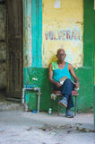 Portrait of a Cuban man Royalty Free Stock Photo