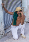 Portrait of a Cuban man Royalty Free Stock Images