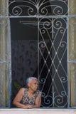 Portrait of a Cuban woman Royalty Free Stock Photo
