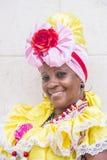 Portrait of a Cuban woman Stock Photos