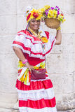 Portrait of a Cuban woman Royalty Free Stock Photo