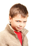 Portrait of a cunning boy Stock Photography