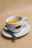 Portrait of cup of tasty coffe. Image of cup of tasty coffe Royalty Free Stock Photos