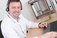 Portrait of customer service representative Royalty Free Stock Photo