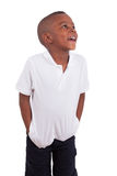 Portrait of a cute african american little boy Royalty Free Stock Image
