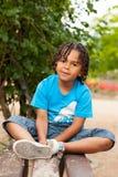 Portrait of a cute african american little boy Stock Photos