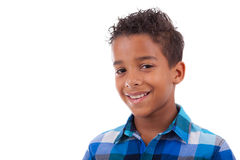 Portrait of a cute african american little boy Royalty Free Stock Photography