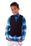 Portrait of a cute african american little boy Stock Image