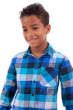 Portrait of a cute african american little boy Royalty Free Stock Photo