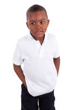 Portrait of a cute african american little boy - Black people Royalty Free Stock Photos