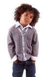 Portrait of a cute african little boy Stock Photography