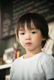 Portrait of cute asian boy Royalty Free Stock Images