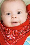 Portrait of a cute baby Royalty Free Stock Photography