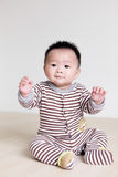 Portrait of cute baby Stock Photo