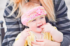 Portrait of cute baby Royalty Free Stock Photo