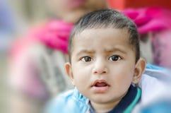 Portrait of cute baby boy Stock Image