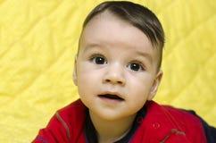 Portrait of a cute baby boy. Stock Photos