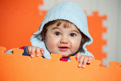 Portrait of Baby boy Stock Photo