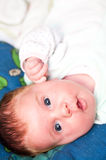 Portrait of cute baby girl Royalty Free Stock Photos