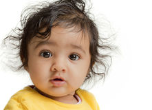 Portrait of Cute Baby Girl Royalty Free Stock Photo