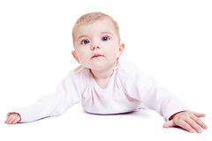 Portrait of a cute baby girl Royalty Free Stock Photography