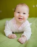 Portrait of cute baby Stock Photography