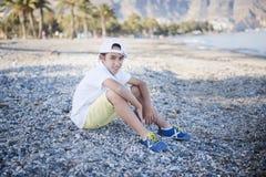 Portrait of a cute boy Stock Images