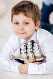 Portrait of cute boy Royalty Free Stock Photo