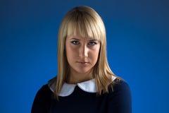 Portrait of cute business woman stock photos