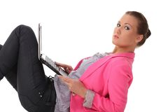 Portrait of a cute businesswoman Royalty Free Stock Photo